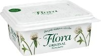 Flora Smörgåsmargarin normalsaltat 12 x 600 g  -