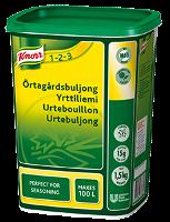 Knorr Örtagårdsbuljong, pulver 3 x 1,5 kg - Många storkök har ett behov av en buljong som kan ge djup kropp av  örter i sina rätter.