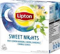 Lipton Herbal Infusion Sweet Night 12x20 påsar -