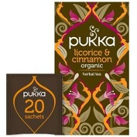 Pukka Örtte Licorice & Cinnamon EKO 4 x 20 p          -