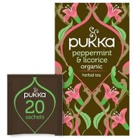 Pukka Örtte Peppermint & Licorice EKO EKO 4 x 20 p    -