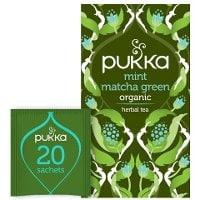 Pukka Grönt Te Mint Matcha Green EKO 4 x 20 p    -