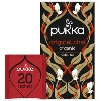 Pukka Svart Te Original Chai EKO 4 x 20 p -