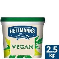 HELLMANN'S  Vegan Mayonnaise, hink, 72 %, 1 x 2,5 kg -
