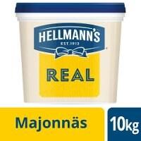 HELLMANN'S Majonnäs Real 79%, 1 x 10 kg