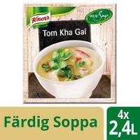 Knorr 100 % Soppa Tom Kha Gai 4x2,4L -