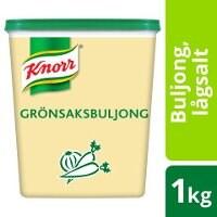Knorr Grönsaksbuljong lågsalt 3x1kg -
