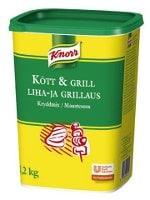Knorr Kött & Grill krydda 3 x 1,2 kg