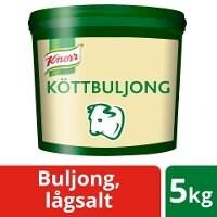 Knorr Köttbuljong lågsalt 1x5kg -