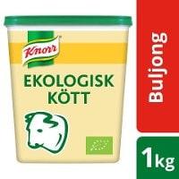 Knorr Köttbuljong, lågsalt, Ekologisk, pulver 3 x1 kg -