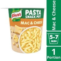 Knorr Snack Pot Mac & Cheese, 8 x 62 g     -