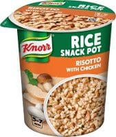 Knorr Snack Pot Risotto, 8 x 75 g     -