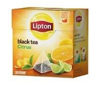 Lipton Citrus Tea, pyramid (utan kuvert) 12 x 20 påsar -