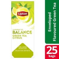 Lipton Classic Green Tea Citrus 6 x 25 påsar -