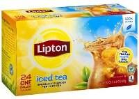 Lipton Färskbryggt Iste Svart 4x24 påsar -