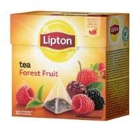 Lipton Forest Fruit Tea, pyramid (utan kuvert) 12 x 20 påsar