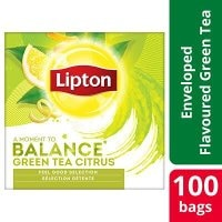 LIPTON Green Tea Citrus 12 x 100 påsar -