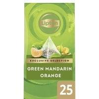 Lipton Green Tea Mandarin Orange, pyramid 6 x 25 påsar -