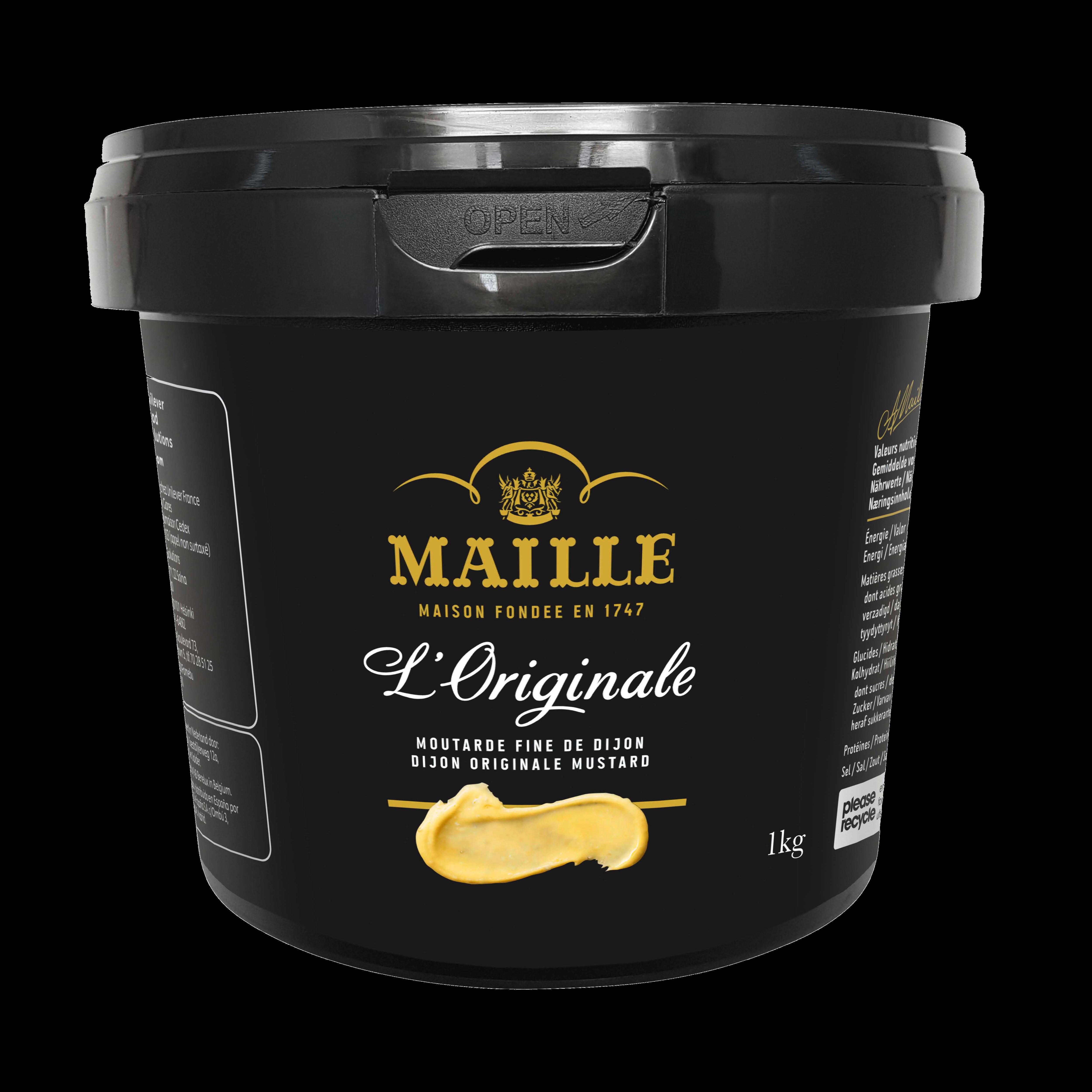 MAILLE Senap Dijon Original 8 x 1 kg -