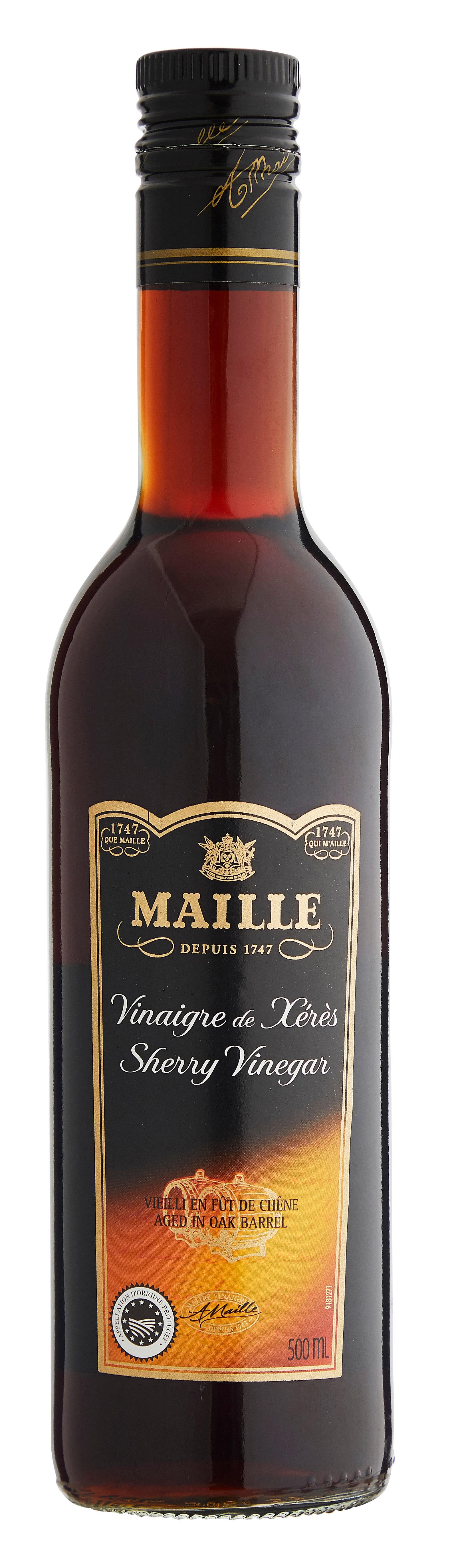 MAILLE Sherryvinäger - flaska, 6x500 ml -