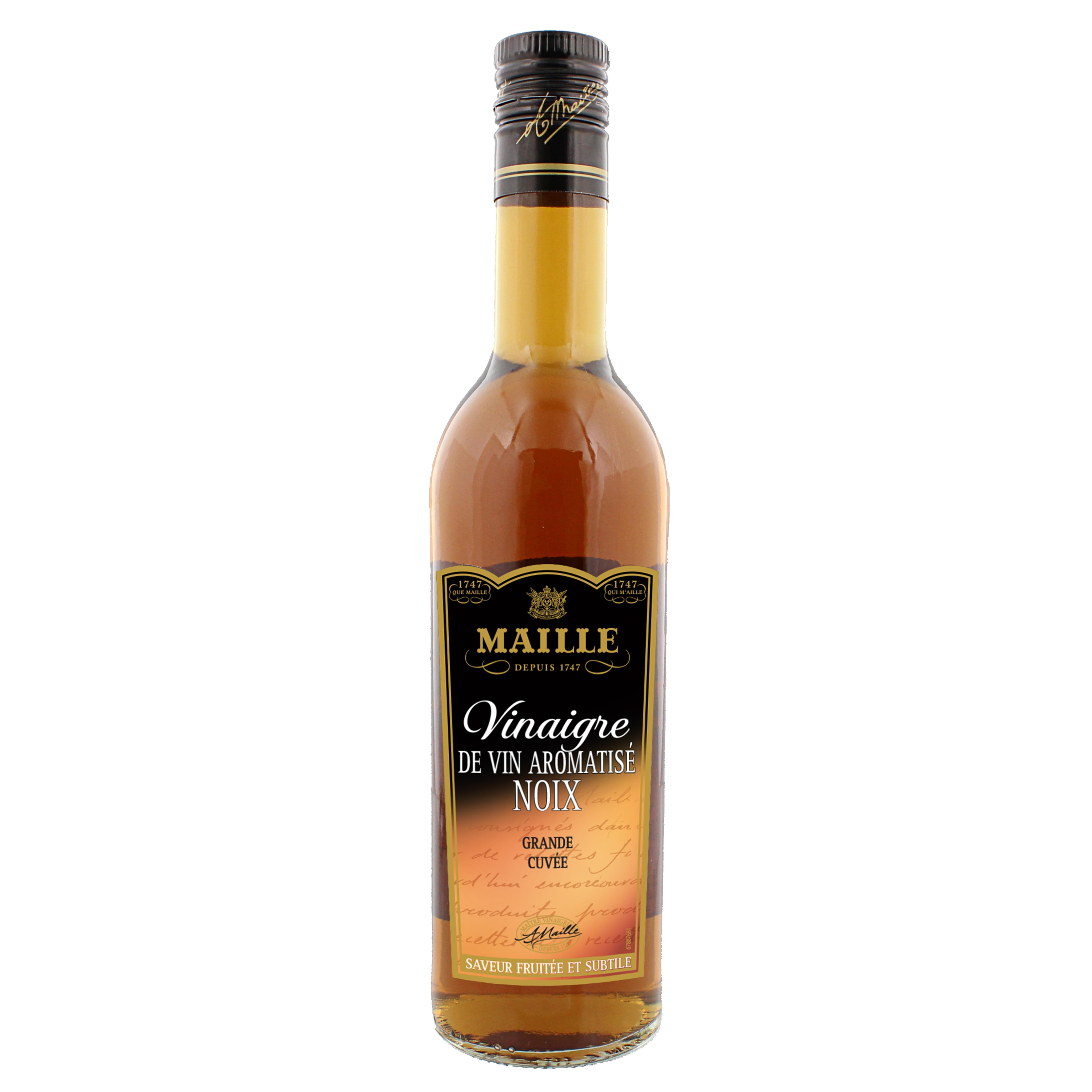MAILLE Vitvinsvinäger  - flaska, 6x500 ml -