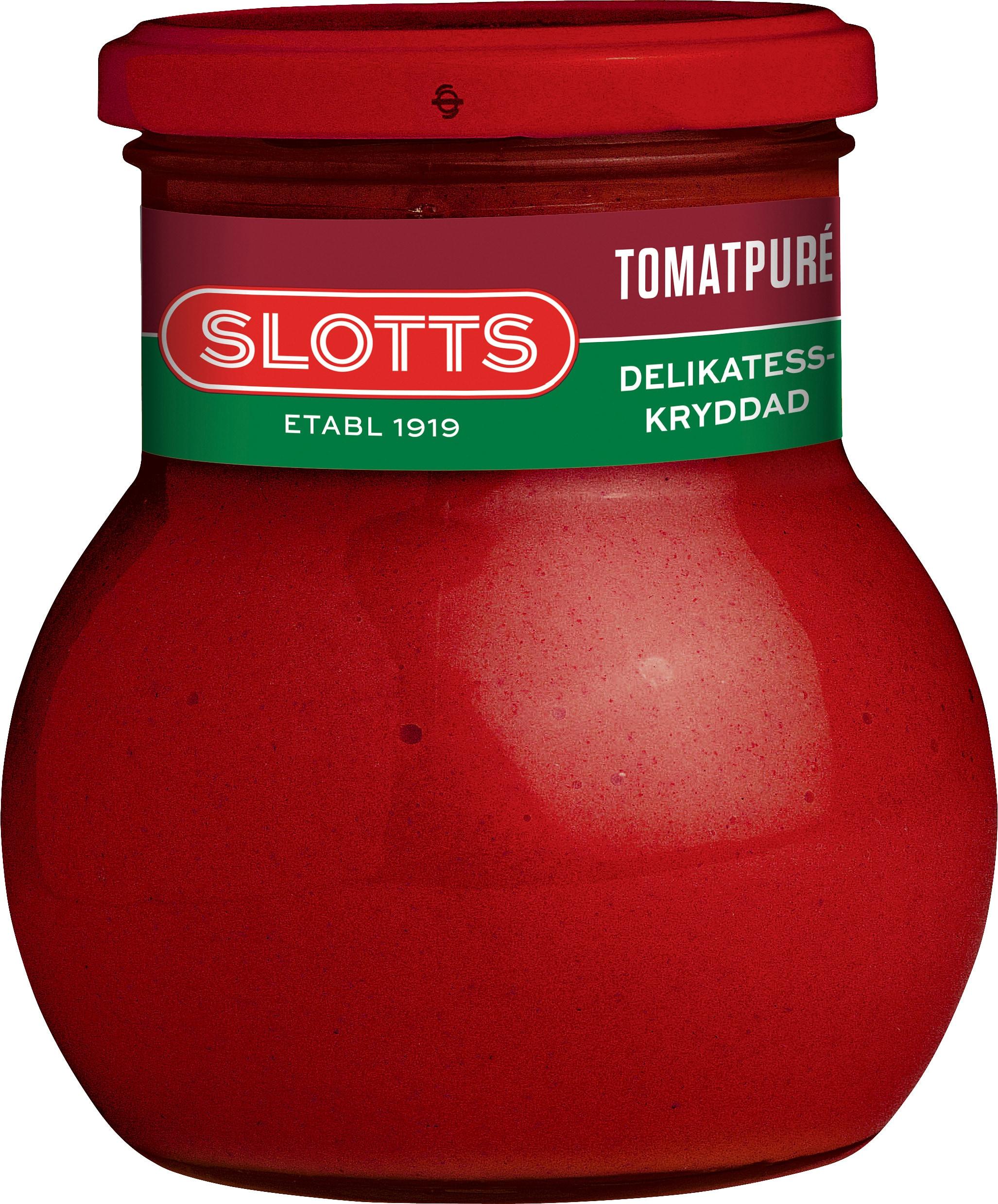 SLOTTS Tomatpuré Delikatesskryddad 6x440 gr
