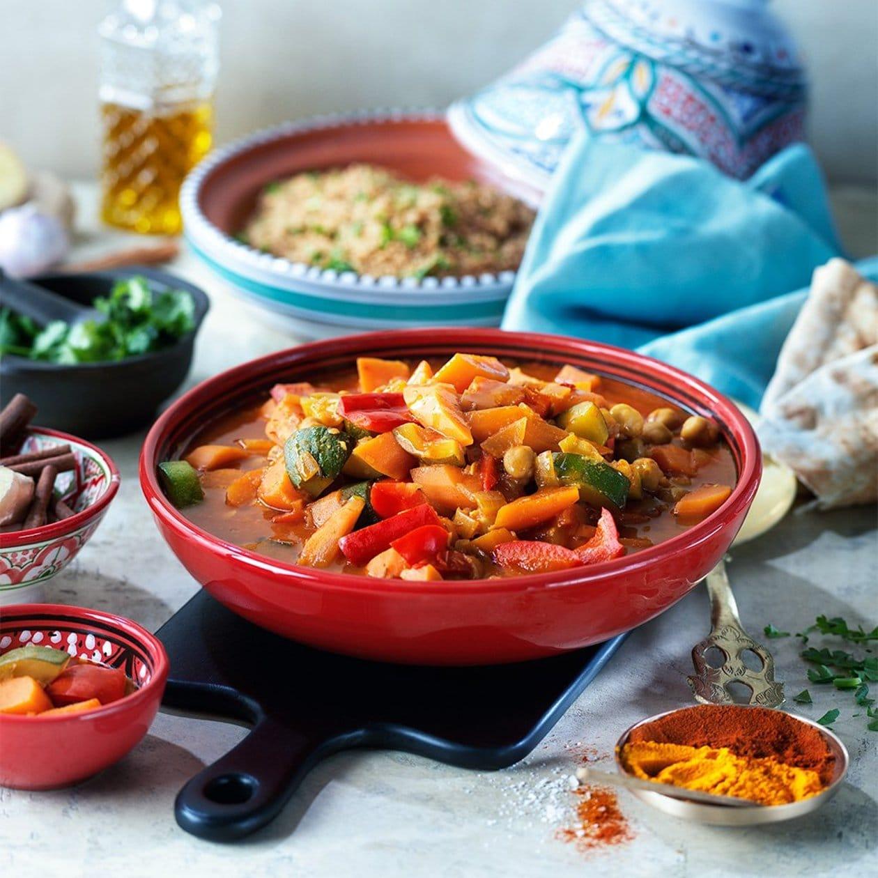 Tunisisk grönsakscous cous