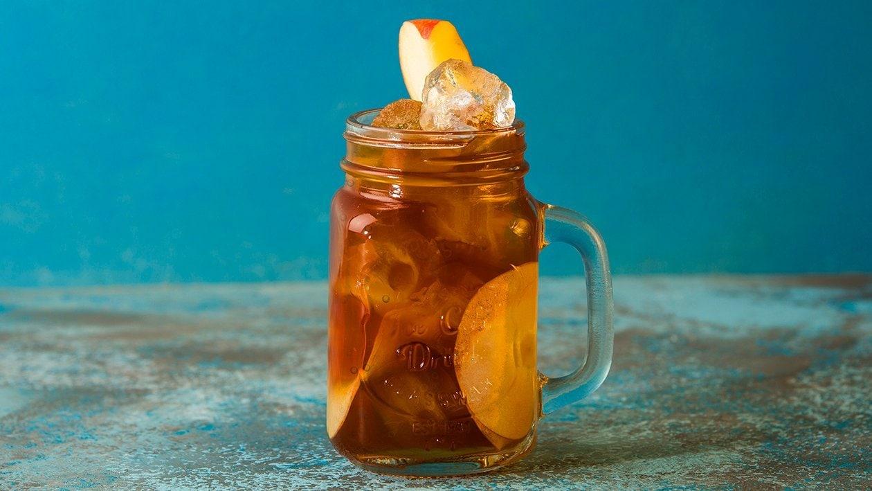 Fresh Brewed Iced Tea med ingefära och äpple
