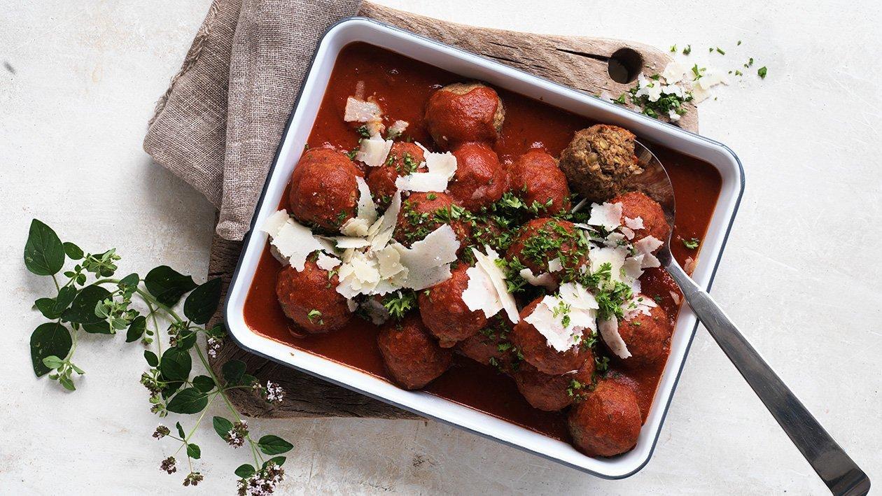 Frikadeller i tomatsås - klimatsmart mat