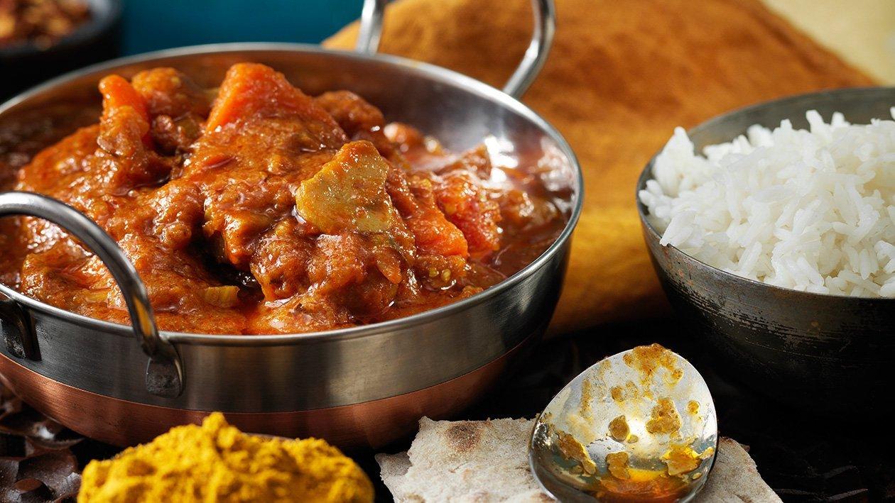 Indisk vegetarisk curry