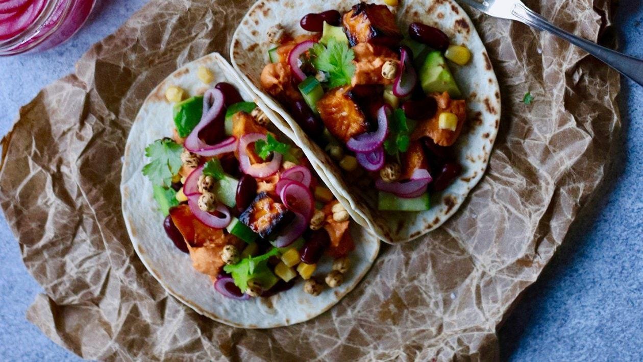 Tacos med sötpotatis